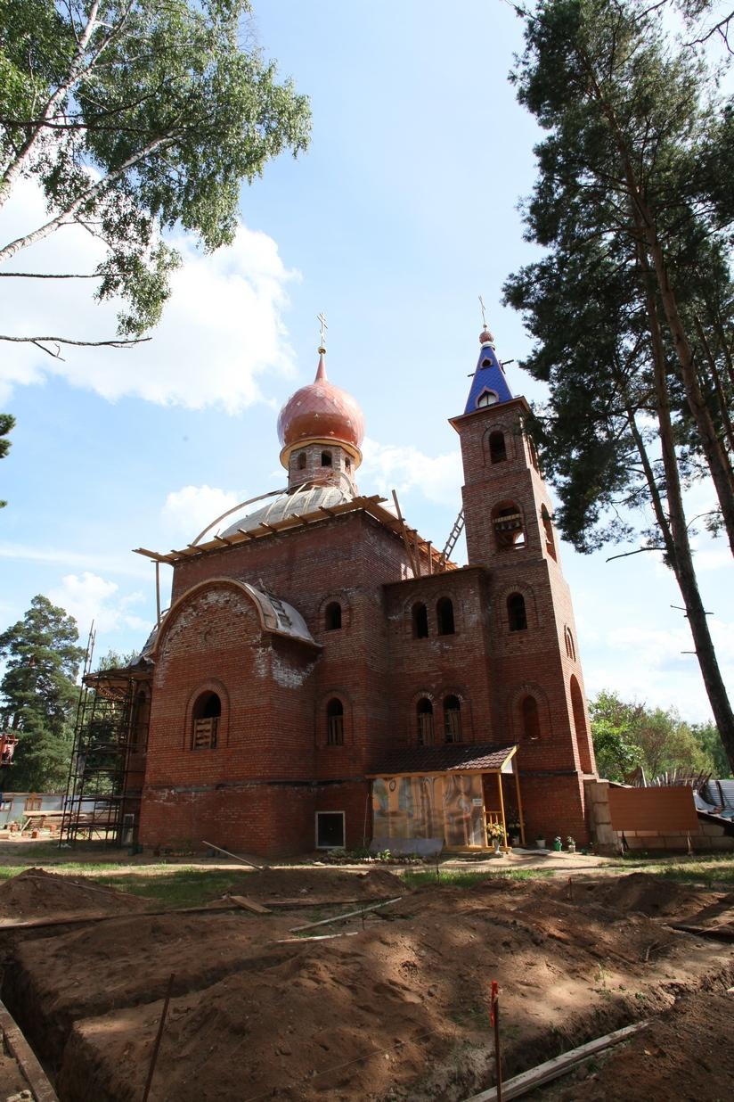 Ивантеевка храм святого мученика георгия победоносца фото